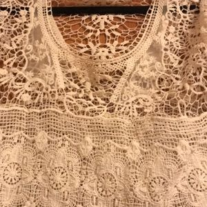 Urban Outfitters Tops - Urban outfitters crochet top